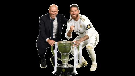 Render Zinedine Zidane & Sergio Ramos