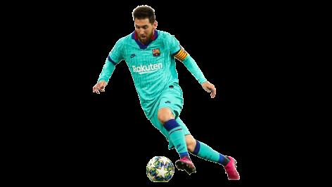 Lionel Messi No.1