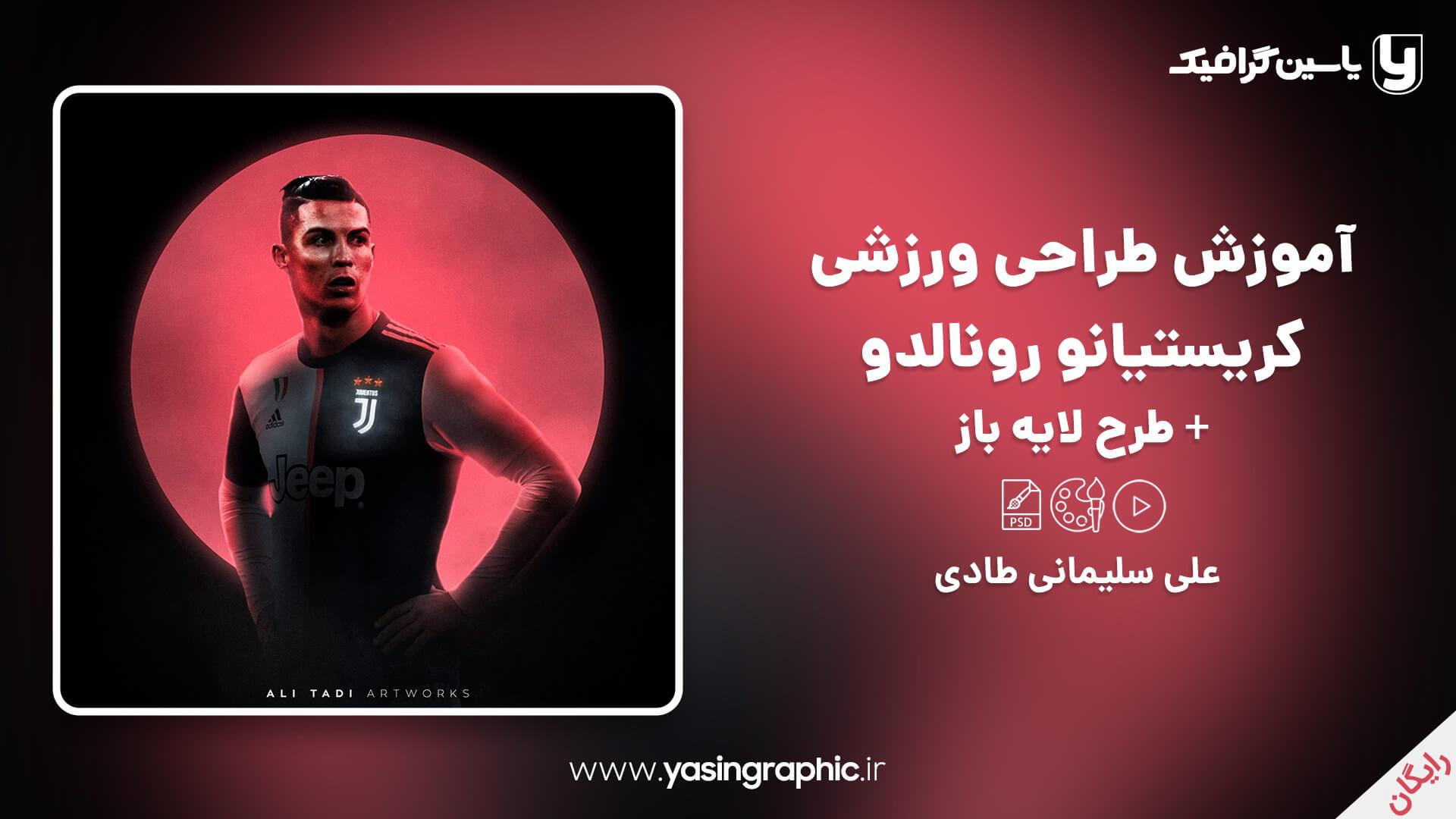 Design training by Cristiano Ronaldo
